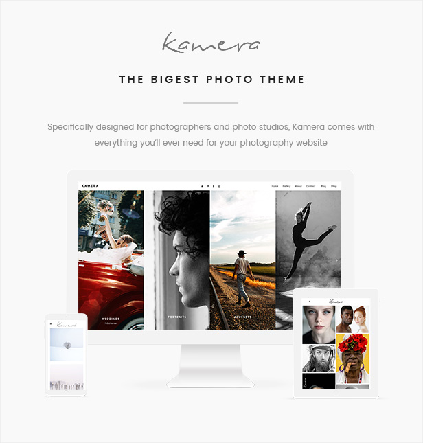Kamera – A Stunning Multi-Notion Photography Theme (Photography)